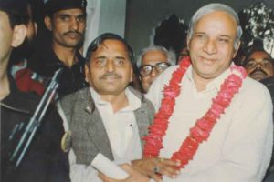 Mulayam and Kanshiram